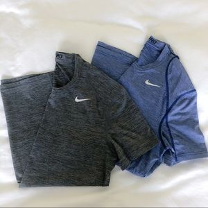 Bundle of 2! Nike Pro Cool Fitted Dri-FIT Shirt